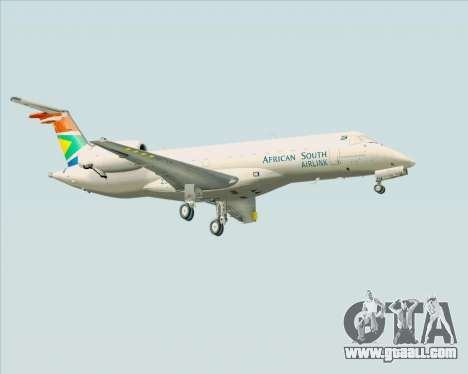 Embraer ERJ-135 South African Airlink for GTA San Andreas right view