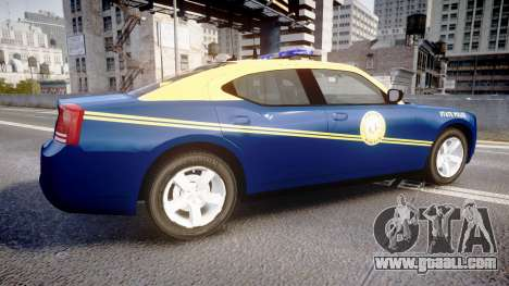 Dodge Charger West Virginia State Police [ELS] for GTA 4 left view