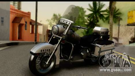 Police Bike GTA 5 for GTA San Andreas