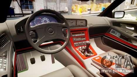 BMW E31 850CSi 1995 [EPM] for GTA 4 inner view
