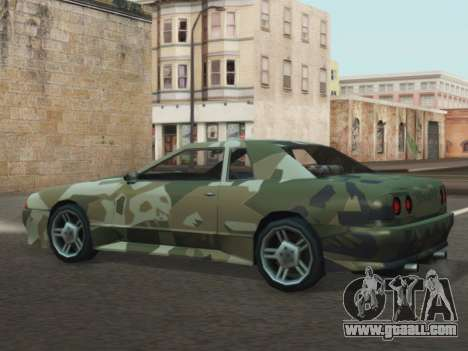 Elegy GTR for GTA San Andreas right view