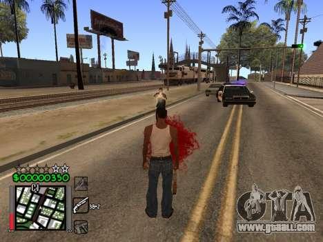 Classic C-HUD 3.4 by Niko for GTA San Andreas third screenshot