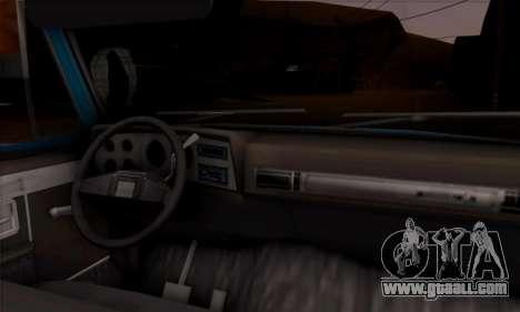 Chevrolet Custom Deluxe for GTA San Andreas back view