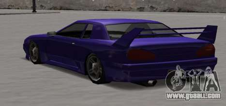 Luni Elegy for GTA San Andreas back view