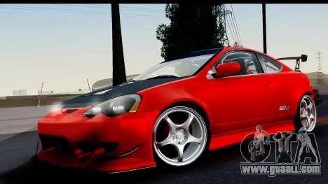 Honda Integra Type R Time Attack HQLM for GTA San Andreas