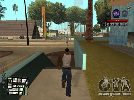 C-HUD by Granto for GTA San Andreas forth screenshot