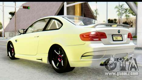 BMW M3 GTS Tuned v1 for GTA San Andreas left view