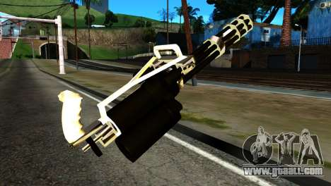 New Minigun for GTA San Andreas second screenshot