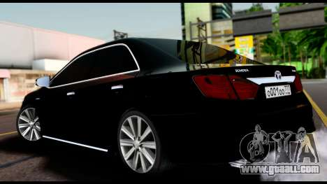 Toyota Camry 2013 for GTA San Andreas left view