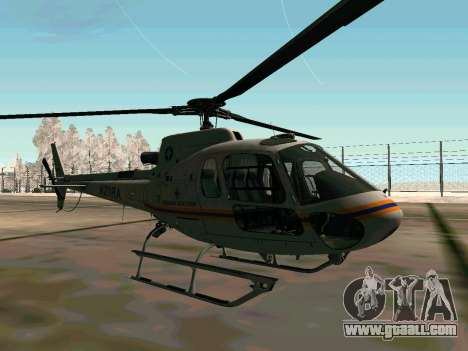 Bo 105 EMERCOM of Russia for GTA San Andreas right view