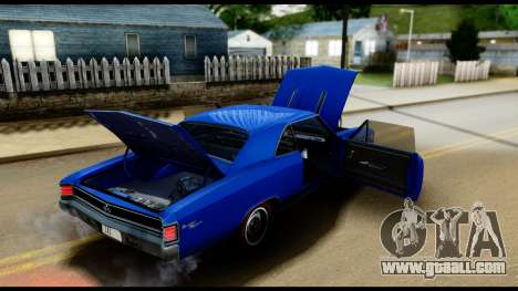 Chevrolet Chevelle SS 396 L78 Hardtop Coupe 1967 for GTA San Andreas side view