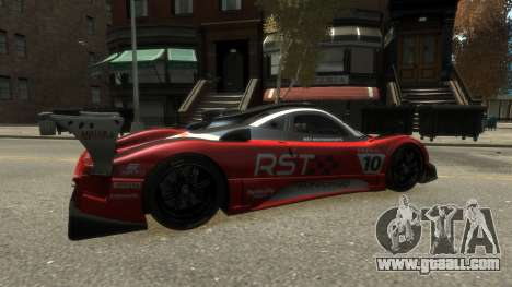 Pagani Zonda R for GTA 4 right view
