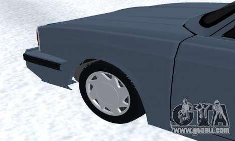 Peykan Separ Joshan 1600 for GTA San Andreas interior