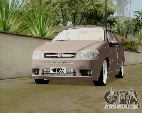 Fiat Siena 2008 for GTA San Andreas right view