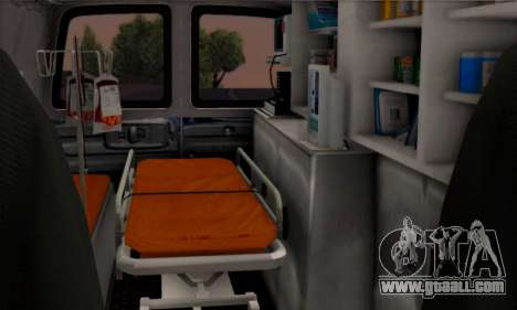 Chevrolet Exspress Ambulance for GTA San Andreas back view