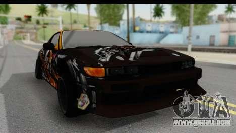 Nissan Silvia S13 for GTA San Andreas right view
