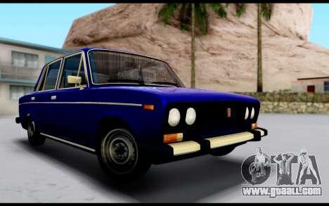 VAZ 2106 Runoff for GTA San Andreas