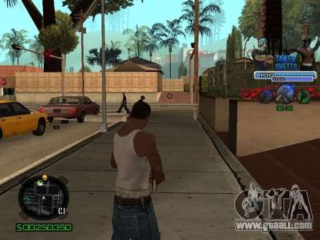 C-HUD для Ghetto for GTA San Andreas third screenshot