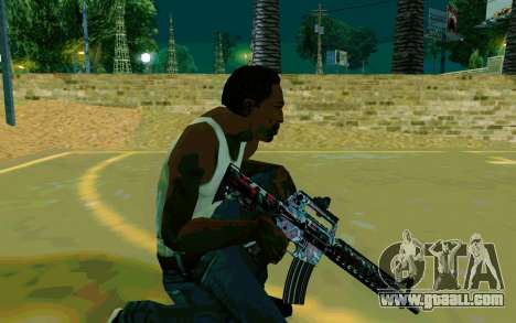 M4A1 (Looney) for GTA San Andreas forth screenshot