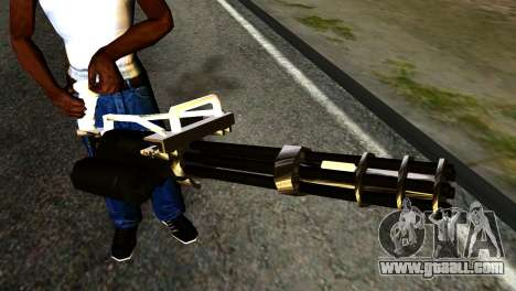 New Minigun for GTA San Andreas third screenshot