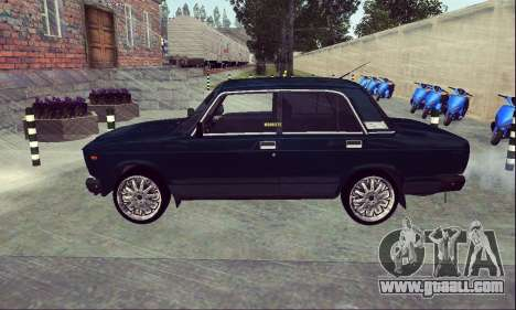 VAZ 2107 Seven-ty for GTA San Andreas left view