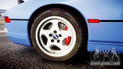 BMW E31 850CSi 1995 [EPM] for GTA 4 back view