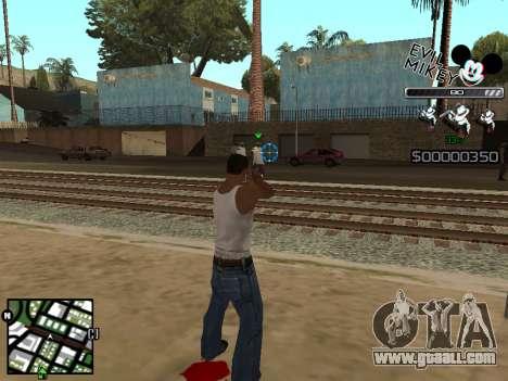 C-HUD Evil Mickey for GTA San Andreas