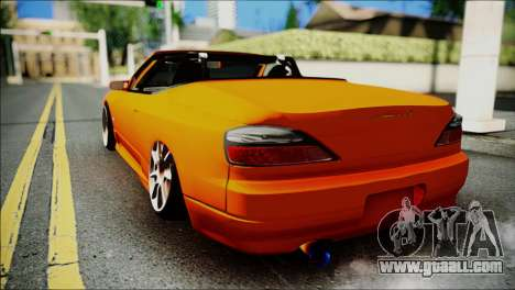 Nissan Silvia S15 Varietta for GTA San Andreas left view