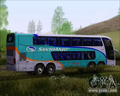 Marcopolo Paradiso G6 1800DD 8x2 SCANIA K420 for GTA San Andreas back view