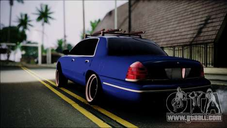 Ford Crown Victoria Stance Nation for GTA San Andreas left view