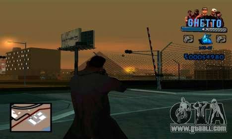C-HUD Gangster for GTA San Andreas third screenshot