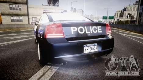 Dodge Charger 2006 Algonquin Police [ELS] for GTA 4 back left view
