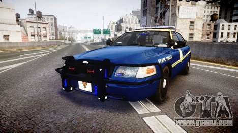 Ford Crown Victoria Virginia State Police [ELS] for GTA 4