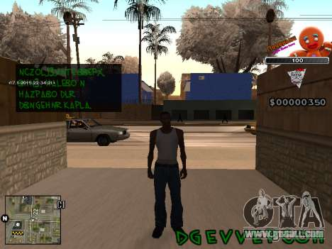 C-HUD Cookie for GTA San Andreas second screenshot