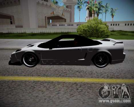 Honda NSX 2015 for GTA San Andreas back left view