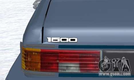 Peykan Separ Joshan 1600 for GTA San Andreas side view