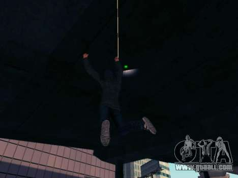 Spiderman Swinging v2.1 for GTA San Andreas forth screenshot