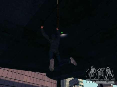 Spiderman Swinging v2.1 for GTA San Andreas forth screenshot