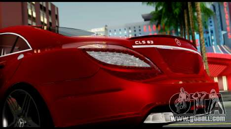 Mercedes-Benz CLS 63 AMG 2010 for GTA San Andreas side view