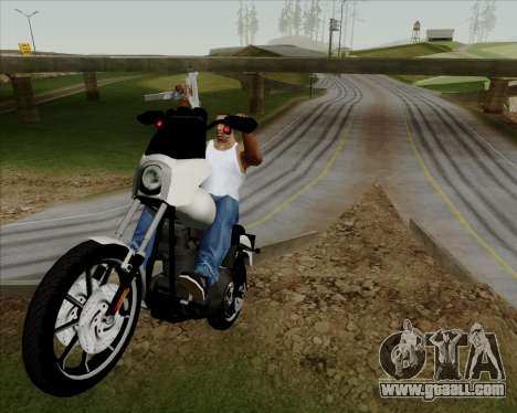 Harley-Davidson FXD Super Glide T-Sport 1999 for GTA San Andreas inner view