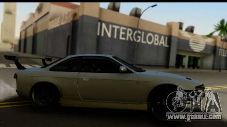 Nissan Silvia S14 Zenki for GTA San Andreas right view