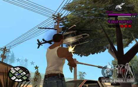 C-HUD by LoMoKo for GTA San Andreas third screenshot