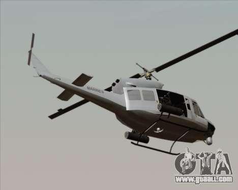 Bell UH-1N Huey USMC for GTA San Andreas