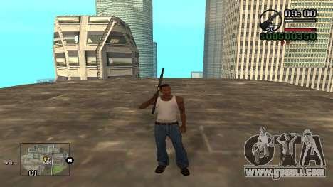 C-HUD By.Kidd for GTA San Andreas third screenshot