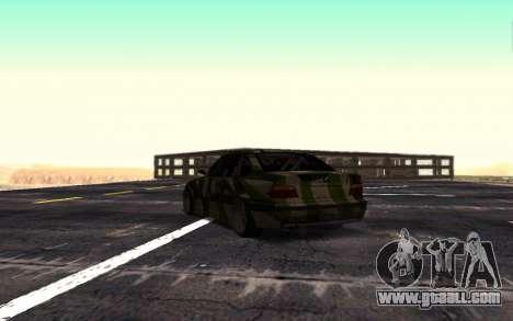BMW M3 E36 Hunter for GTA San Andreas right view