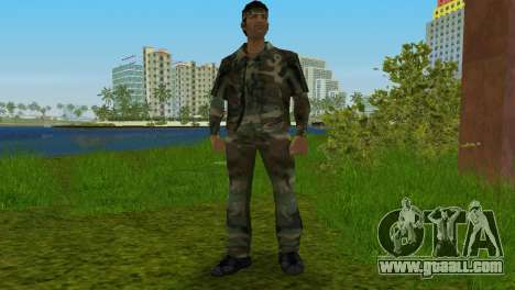 Original VC Camo Skin for GTA Vice City