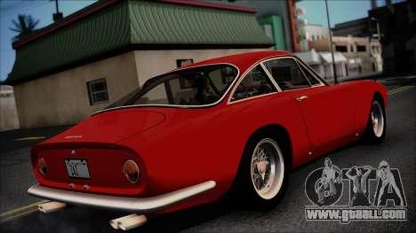 Ferrari 250 GT Berlinetta Lusso 1963 [ImVehFt] for GTA San Andreas back left view