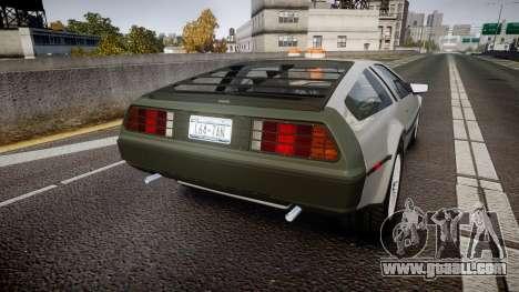 DeLorean DMC-12 [Final] for GTA 4 back left view