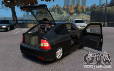 Lada 2172 for GTA 4 right view