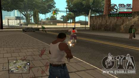 C-HUD By.Kidd for GTA San Andreas